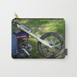 Spinning Chrome Carry-All Pouch