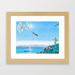 Ocean Light Framed Art Print