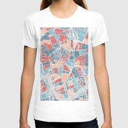 Krakow map T-shirt