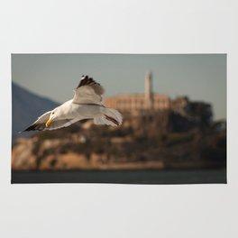 Alcatraz Freedom Rug