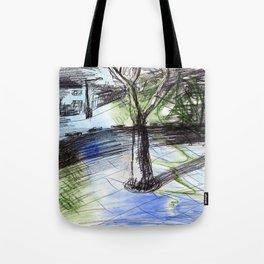 Night tree Tote Bag