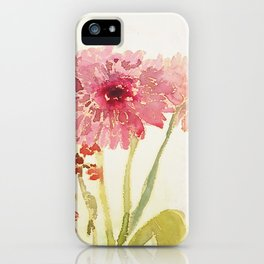 gerberas iPhone Case