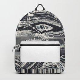 Eye Glitch Art Backpack