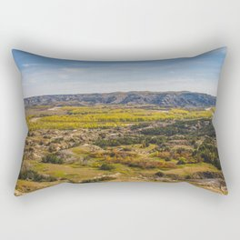 Badlands, Theodore Roosevelt NP, ND 2 Rectangular Pillow