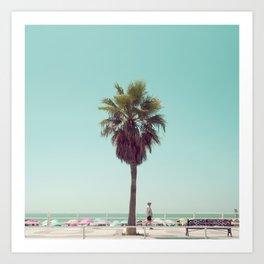 Just Another Summer Postcard Art Print