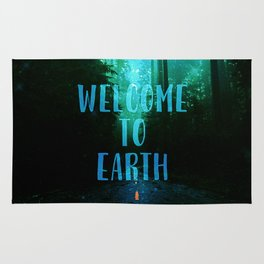 Welcome to Earth Rug