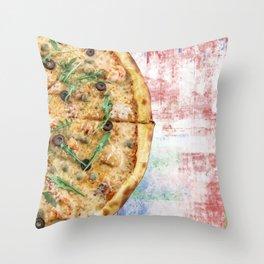 Pizza Power! Throw Pillow