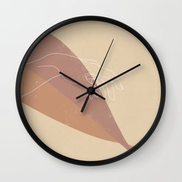 The Touch (Left Hand) Wall Clock