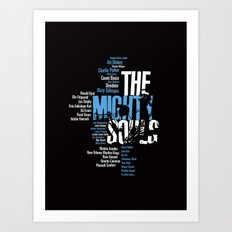 The Mighty Souls: Jazz Legends Art Print