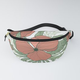 August Flowers Fanny Pack