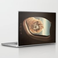 whimsical Laptop & iPad Skins featuring QUÈ PASA? by Monika Strigel