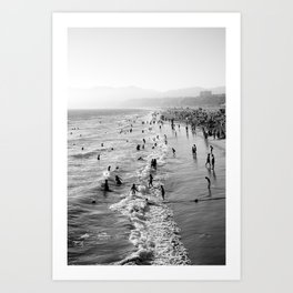 Summer Melody Art Print