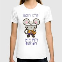matty healy T-shirts featuring Matty the Sporty Mouse by Squid&Pig