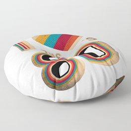 RETRO I LOVE THE 80'S VINTAGE Floor Pillow