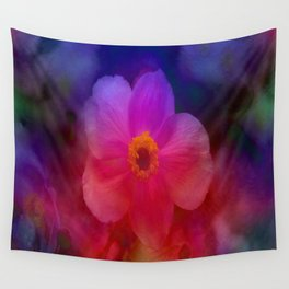 Rainbow Anemone Wall Tapestry