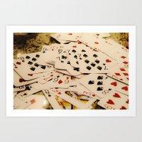 Cards Art Print