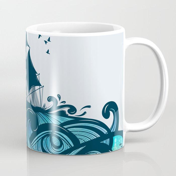 Upon The Sea Coffee Mug