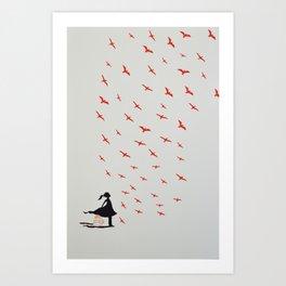 Free the birds! Art Print