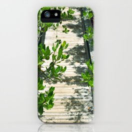 Long Key Boardwalk iPhone Case