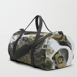 Team Splash, Black and Gold Duffle Bag