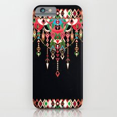 Modern Deco in Red and Black iPhone 6 Slim Case