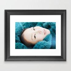 korean beauty Framed Art Print