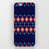 nordic iPhone & iPod Skins featuring Nordic Star by RED ROAD STUDIO