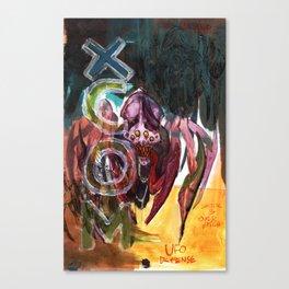 xcom crysalid Canvas Print