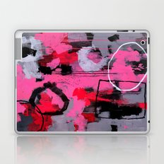 Abstract Painting - Rolling the Big Wheel Laptop & iPad Skin