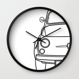 Old 500 Wall Clock