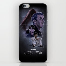 Doctor Who: Listen iPhone Skin