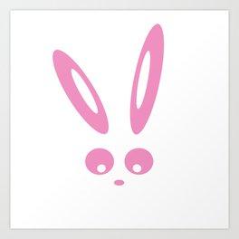 Bunny Bella Art Print