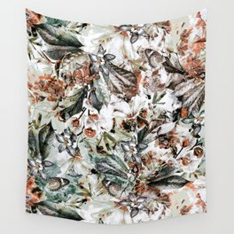 Orchidaceae Wall Tapestry