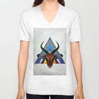 tame impala V-neck T-shirts featuring Impala by JKyleKelly