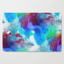Acid clouds Cutting Board