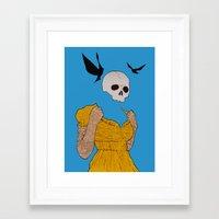 evil dead Framed Art Prints featuring evil dead. by camden noir