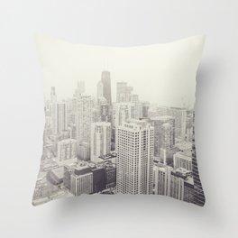 Chicago2 Throw Pillow