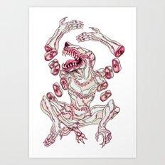 Surgeon Deity Art Print