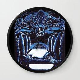 Cthulhu Dreaming Wall Clock