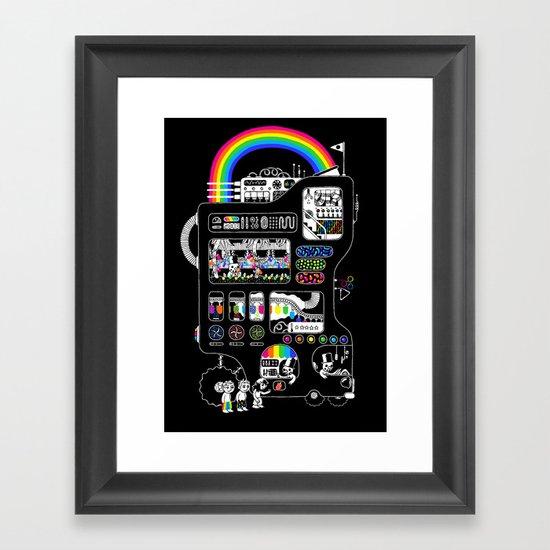 The Icecreamator Framed Art Print