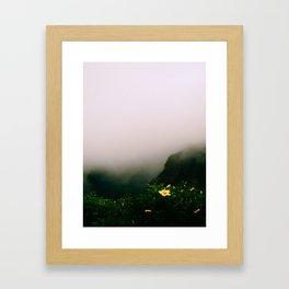 On Top of Ol' Smokey Framed Art Print