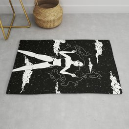 My guide (a cat's resting place) Rug