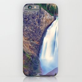 Lower Falls Yellowstone National Park United States Ultra HD iPhone Case