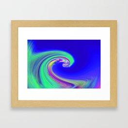"""Angry Ocean"" Photograph Framed Art Print"