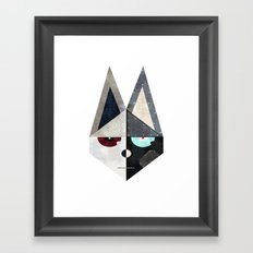 [fox] Framed Art Print