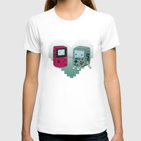 bmo T-shirts featuring BMO IN LOVE by Manfred Maroto