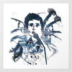 Ian Curtis - Dance Art Print