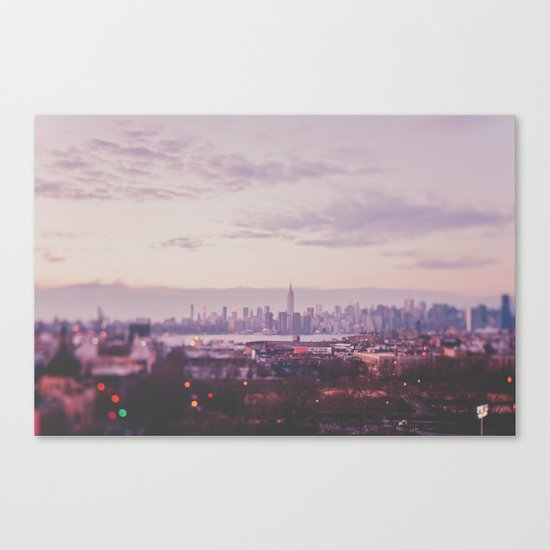 A magical evening Canvas Print