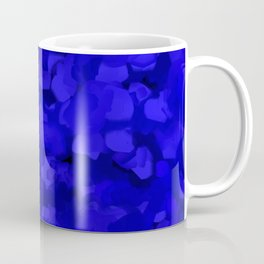 Rich Cobalt Blue Abstract Coffee Mug