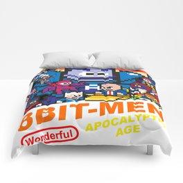 8bit-Men Apocalyptic Age Comforters